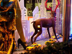 Henri Bendel holiday window 2011