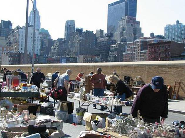 Eat and shop at the Hell's Kitchen Flea Market