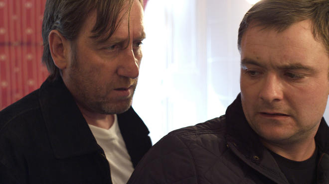 Michael Smiley, left, and Neil Maskell in Kill List