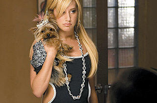 LITTLE MISS BOSSY Tisdale returns asthe ever-pouty Sharpay.
