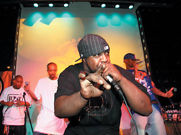 IT'S LIKE THIS, IT'S LIKE THAT Sean Priceof Boot Camp Clik breaks it down at S.O.B.'s.