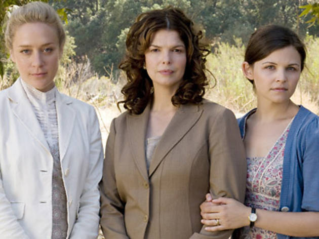 Once, twice, three times a lady: From left, Chlo Sevigny, Jeanne Tripplehorn and Ginnifer Goodwin of Big Love
