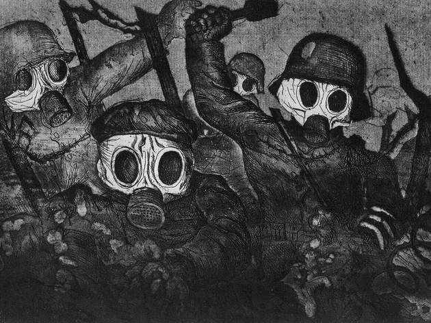 "Otto Dix's ""Storm Troops Advance Under Gas"", as seen in Art Is...the Permanent..."