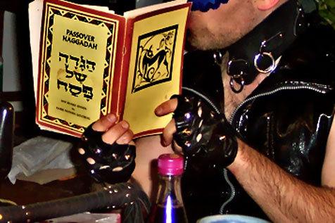 Inside the KinkyJews Hanukkah Celebration