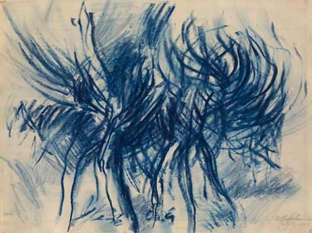"""Dan Flavin: Drawing"""