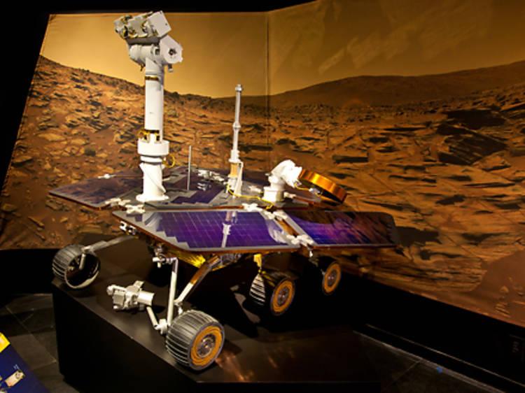 Dar um saltinho a Marte