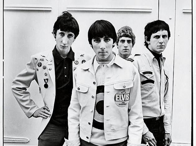 MOD SQUAD The Who look sharp in an early photo.