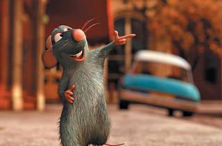 RAT PATROL Oswalt lends his voice to Ratatouille's rodent gastronome.
