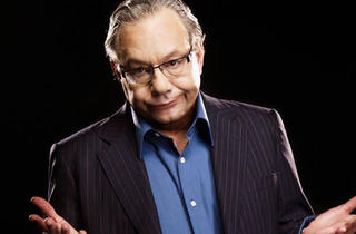 Lewis Black with Judy Gold