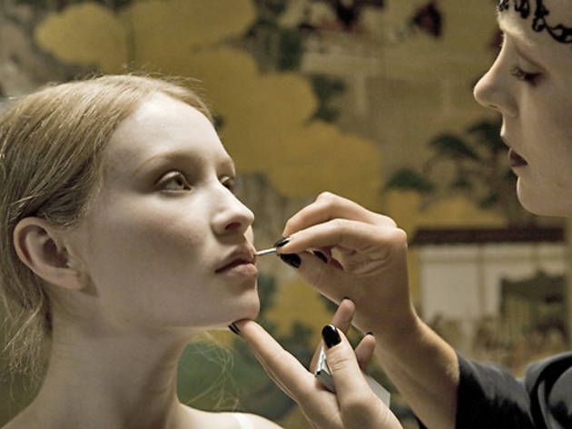 Emily Browning, left, in Sleeping Beauty