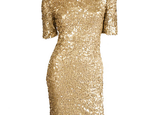 9076ac6f8d5 38 43 Ark   Co. gold sequin party dress