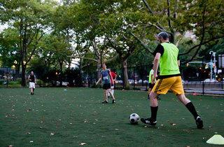 Soccer (Photograph:  Jakob N. Layman)