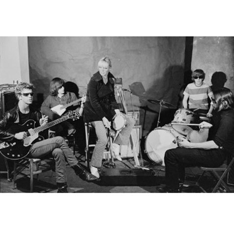 Lou Reed, Sterling Morrison, Nico, Ari, Moe Tucker, John Cale, The Factory