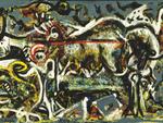 Jackson Pollock, The She-Wolf