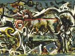 Jackson Pollock, The She-Wolf.