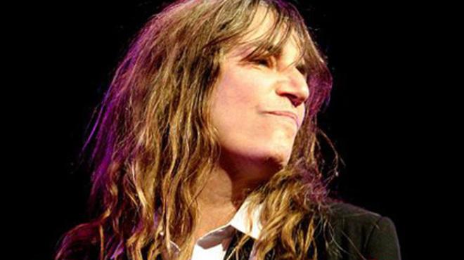 Patti Smith at the Bowery Ballroom