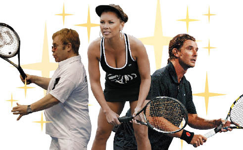 Tennis guide: Celebrity courts