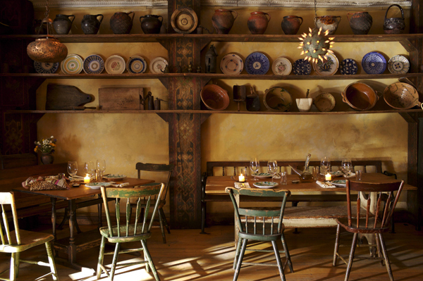 Il buco restaurants in downtown new york for Romantic things to do in nyc winter