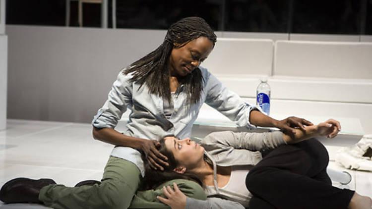 Charlene Woodard comforts an alienated Cristin Milioti in Stunning