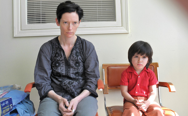Tilda Swinton and Jasper Newell in We Need to Talk About Kevin