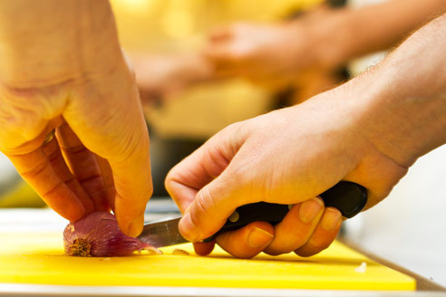 Couples Cooking: The Bourbon Steakhouse at the Institute of Culinary Education