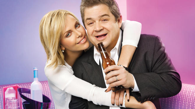 Charlize Theron and Patton Oswalt of Young Adult