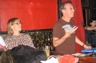 Susan Dottino and Ken Kalfus at KGB Bar Sunday Night Fiction