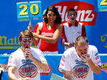 Nathan's Famous Fourth of July International Hot Dog Eating Contest, July 4