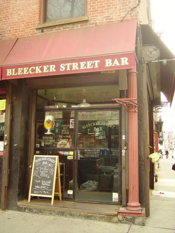 Bleecker Street Bar