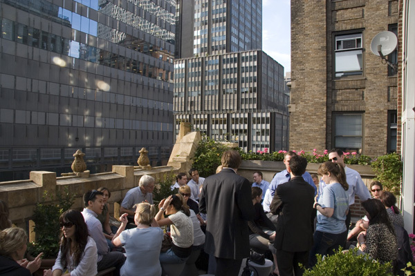 Bookmarks Rooftop Lounge at the Library Hotel | Bars in Midtown, New York