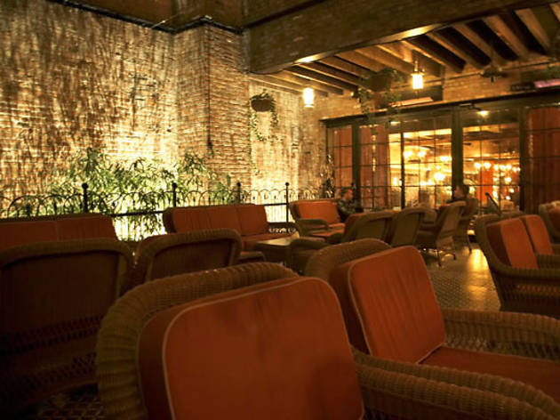 The lobby bar at bowery hotel bars in east village