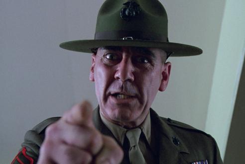 Gunnery Sergeant Hartman, Full Metal Jacket (1987)