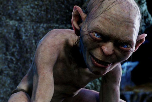 Gollum, The Lord of the Rings trilogy (2001–03)