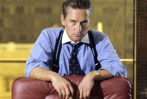 Gordon Gekko, Wall Street (1987)