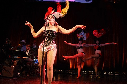 Lose your inhibitions at Le Scandal Cabaret