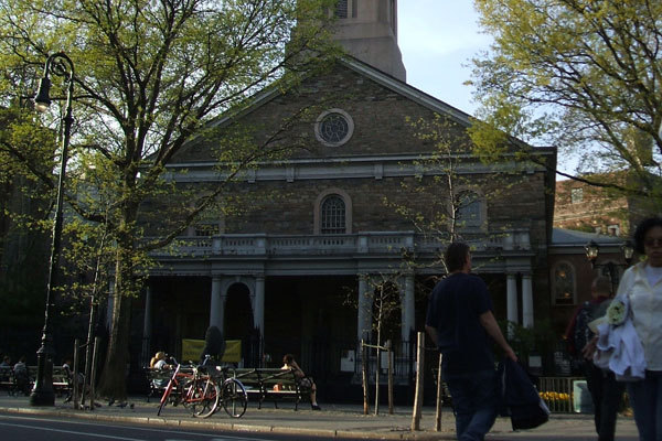 Danspace Project at St. Mark's Church in-the-Bowery