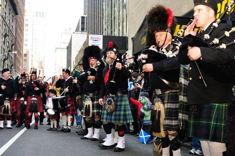 NY Tartan Day Parade