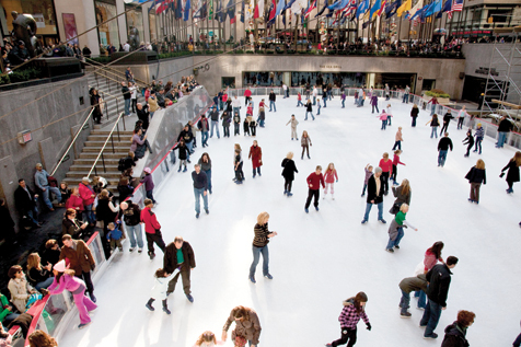 Ice-skating in NYC