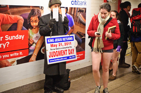 2011 No Pants Subway Ride