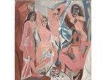 1. Les Demoiselles d'Avignon (1907), Pablo Picasso  The ur-canvas of 20th-century art, Les Demoiselles d'Avignon ushered in the modern era by decisively breaking with the  representational tradition of Western painting, incorporating allusions  to the Afr