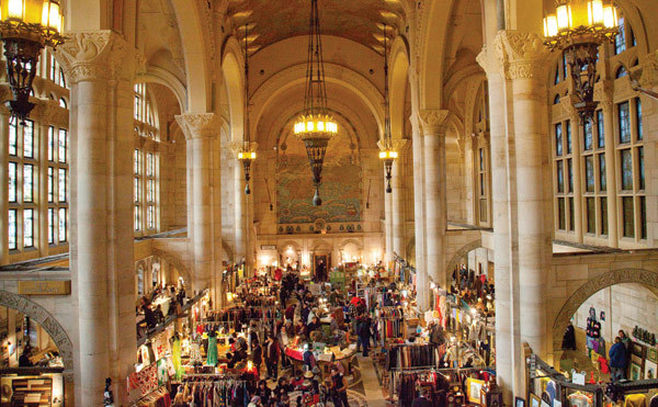 Shop the Brooklyn Flea in grand surroundings