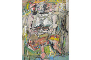 (Photograph: Museum of Modern Art New York;  2011 The Willem de Kooning Foundation / Artists Rights Society (ARS); New York)