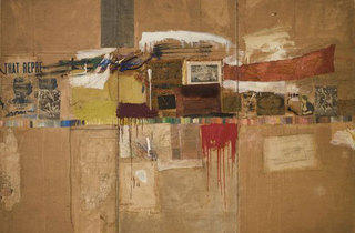 (Photograph: Museum of Modern Art New York; Partial and promised gift of Jo Carole and Ronald S. Lauder and purchase. Art  Robert Rauschenberg/ Licensed by VAGA; New York; NY)