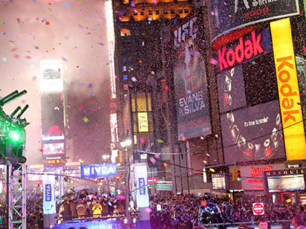 New Year's Eve in Times Square