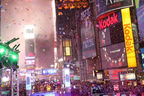 New Year's Eve at Times Square