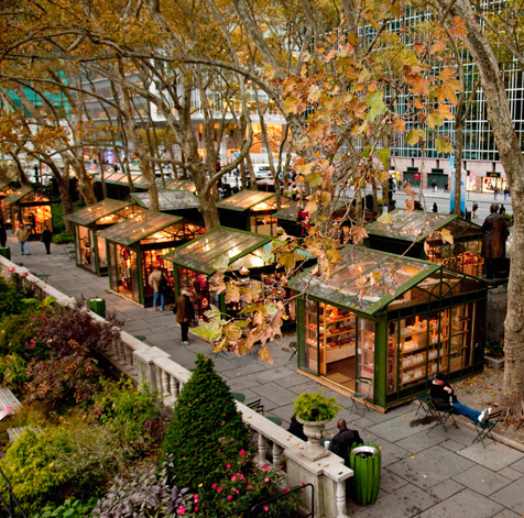 The Holiday Shops at Bryant Park (CLOSED)