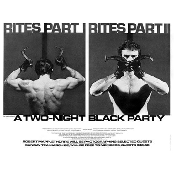 Black Party posters (NSFW)