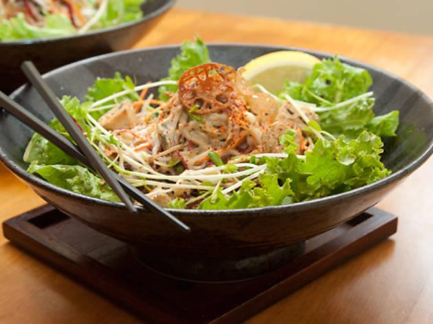 Macrobiotic salad at Souen