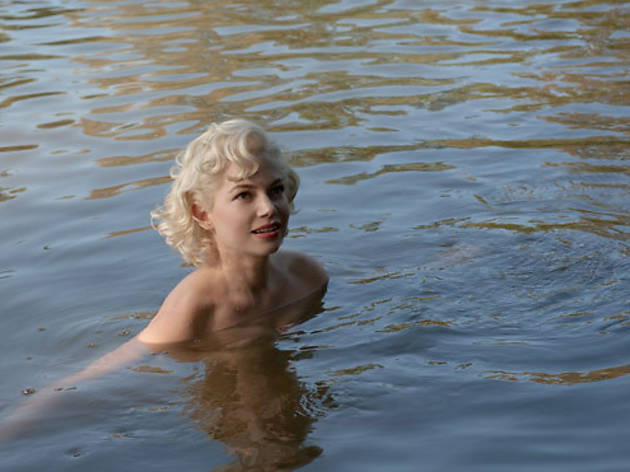 Michelle Williams in My Week with Marilyn