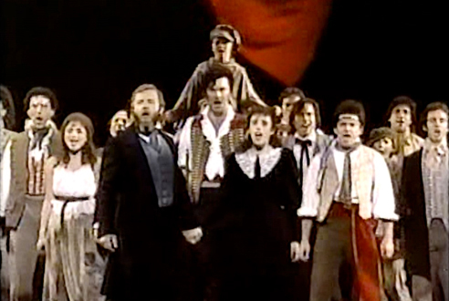"Les Misérables, ""At the End of the Day""/""One Day More"" (1987)"